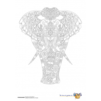 Coloriages Elephant