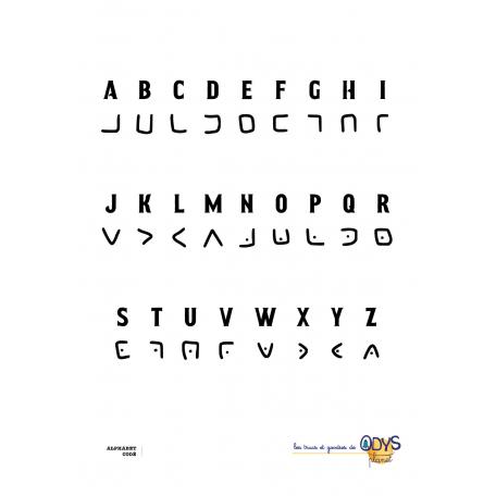 Alphabet codé