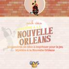 Pack déco - Eléments à imprimer (extraits) - Mystère à la Nouvelle Orléans