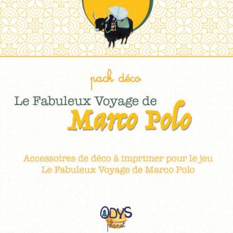 Pack déco - Chasse au trésor Le Fabuleux Voyage de Marco Polo