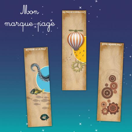 Marque-Page L'Horloge des Trois Mondes