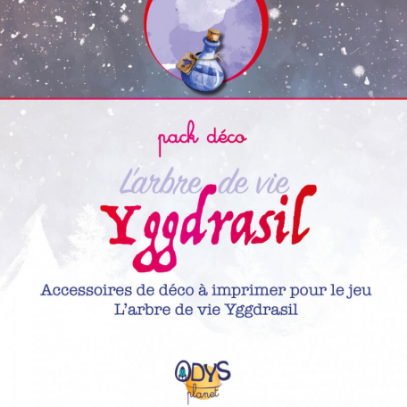 Pack déco - Escape Game L'arbre de vie Yggdrasil