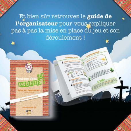 Guide de l'organisateur pour l'Enquête Policière pour enfants Panique chez les Squelettes