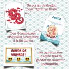 Eléments à imprimer pour la Chasse au trésor - Le Secret des Dragons