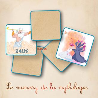 Memory de la Mythologie - La Loi Des Enfers